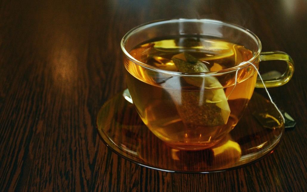 leckerer Tee in einer Tasse