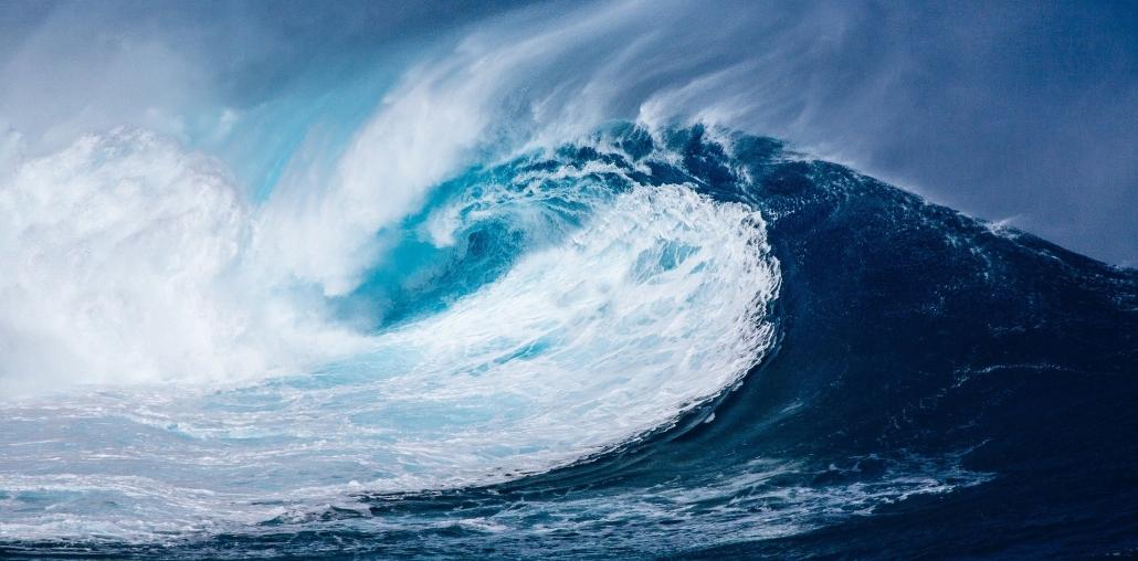 Wasser - Welle