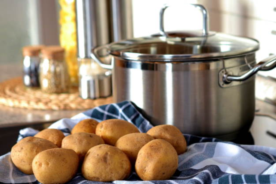 Superfood Kartoffel – Topf zum Dämpfen von Kartoffeln