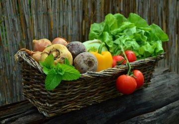 Gemüse frisch schneiden